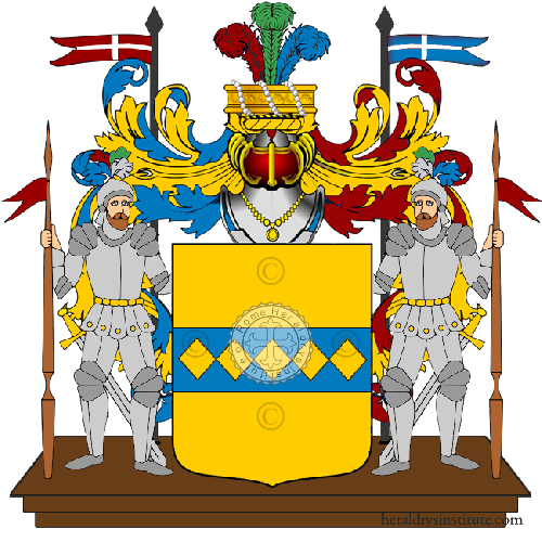 Coat of arms of family Dimare