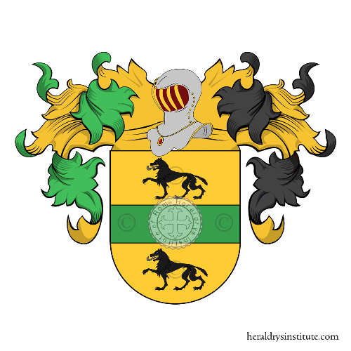 Coat of Arms of family Palmas