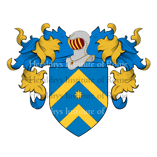 Coat of arms of family Mannucci
