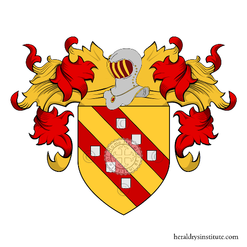 Coat of Arms of family Cithera, Cedra (o) o Cetra (della)