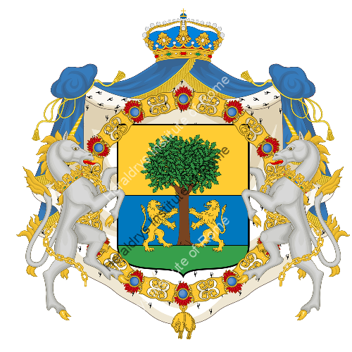 Coat of arms of family Oneto