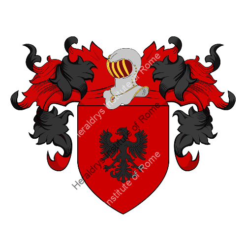Coat of Arms of family Vegis
