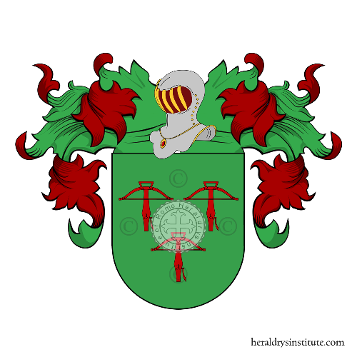 Coat of arms of family Gaudino