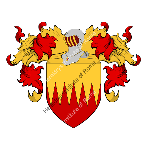 Coat of Arms of family Le Clezio
