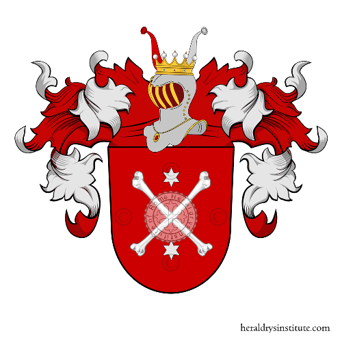 Coat of Arms of family Federwish