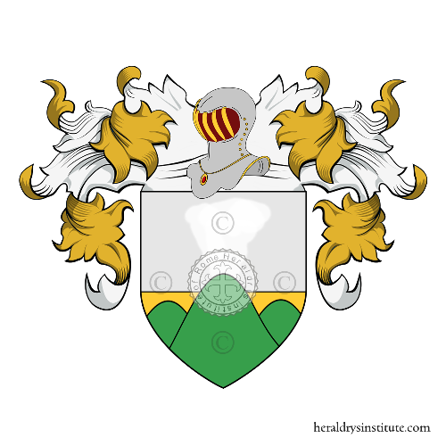 Coat of arms of family Kapnist