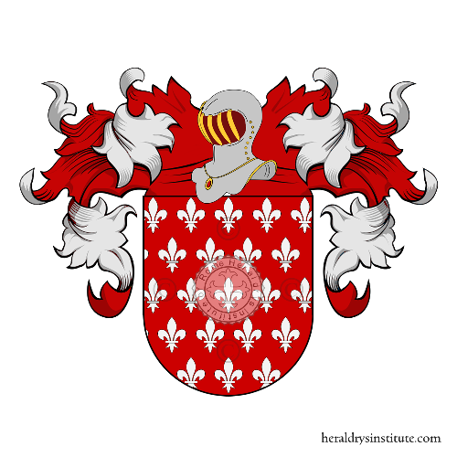 Coat of Arms of family Zanada