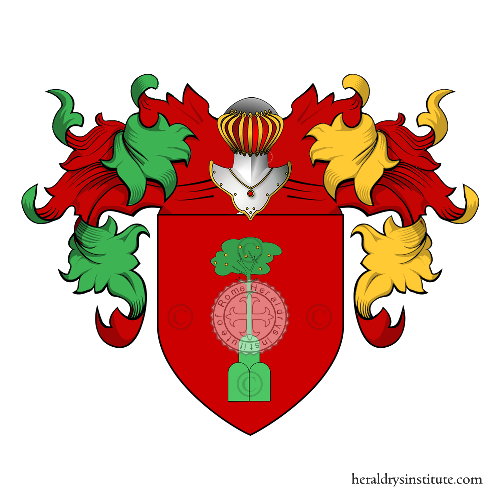 Coat of Arms of family Pindemonte