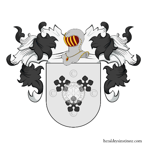 Coat of Arms of family Martins