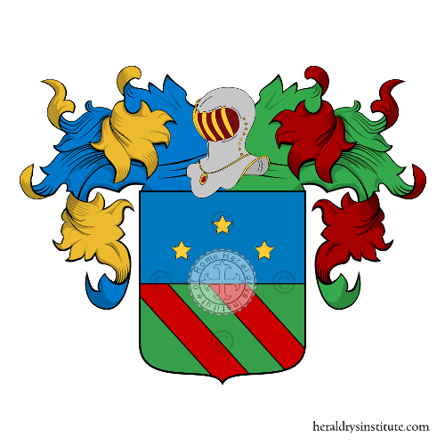 Coat of Arms of family Toccolo
