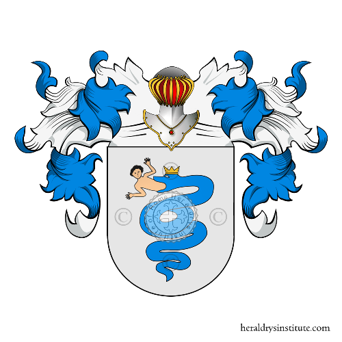 Coat of arms of family Visconti