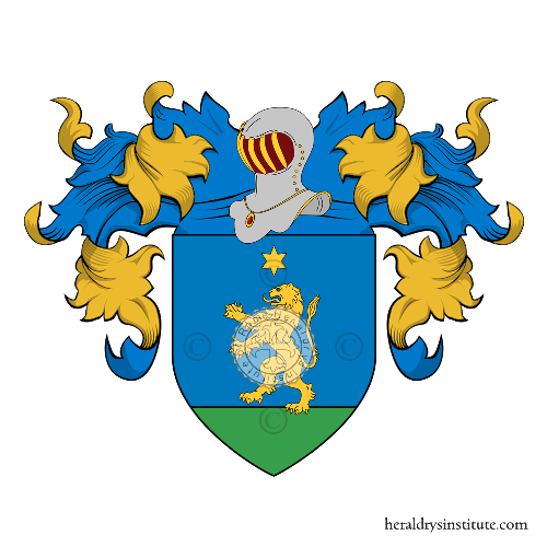Coat of Arms of family Lazarini