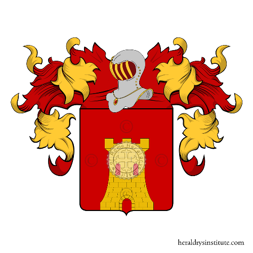 Coat of Arms of family Contreras