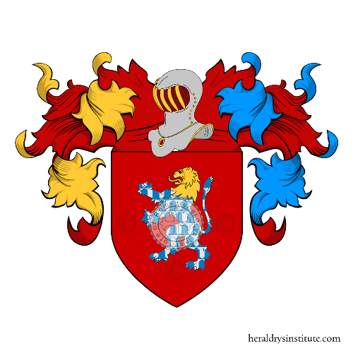 Coat of arms of family Mattuzzi