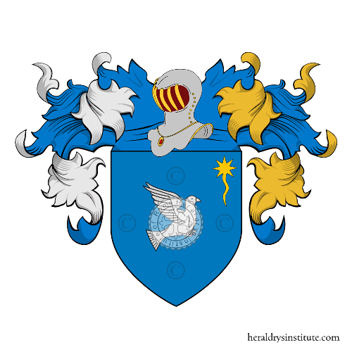 Coat of arms of family Mochi