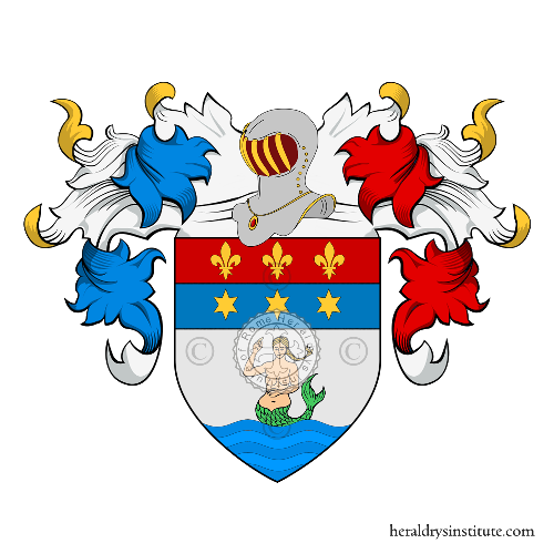 Coat of arms of family Serena