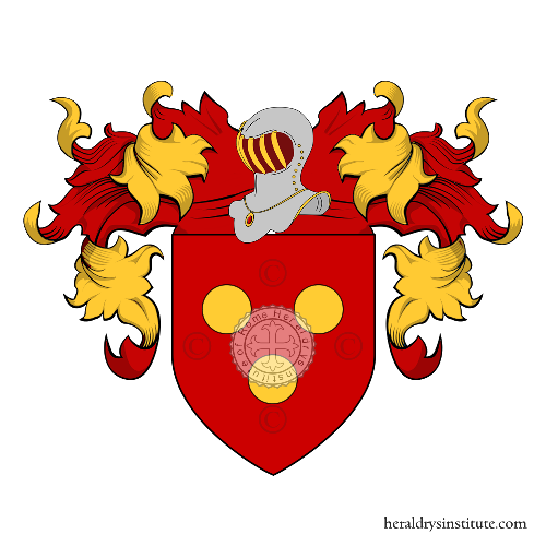 Coat of arms of family Aquaria