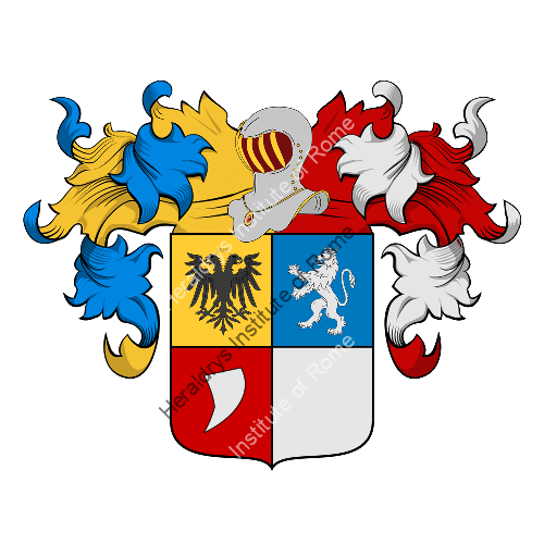 Coat of Arms of family Massa Saluzzo