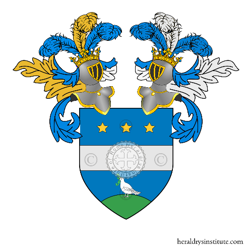 Coat of Arms of family Demaretti