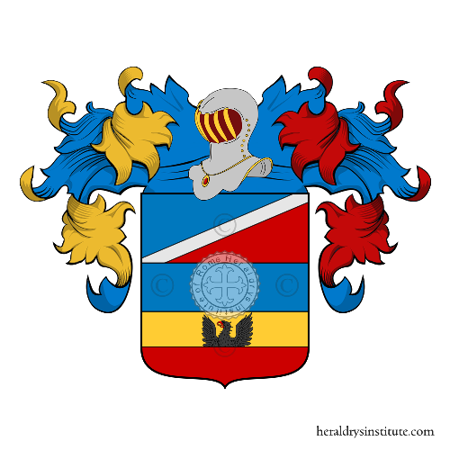Coat of arms of family Polpo