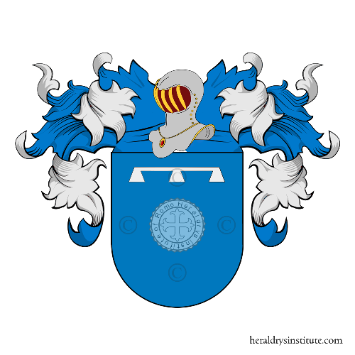 Coat of arms of family Giner