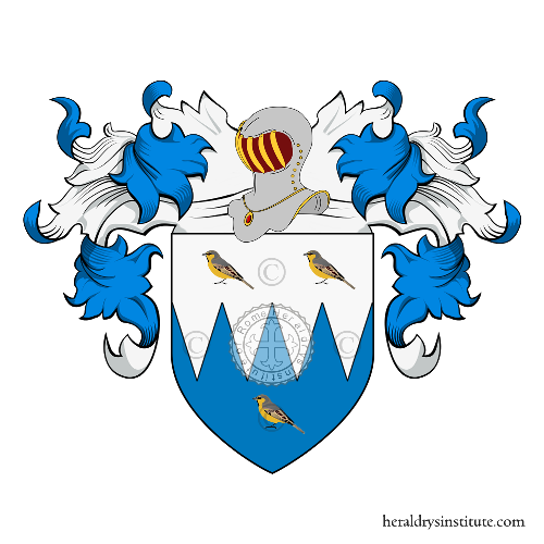 Coat of Arms of family Voarino