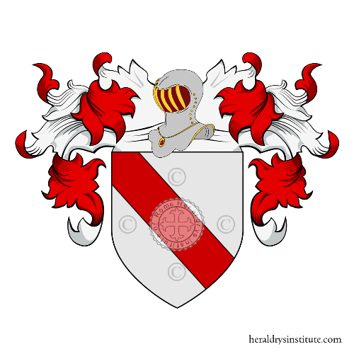 Coat of arms of family Comini