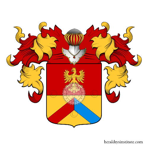 Coat of arms of family Facchera