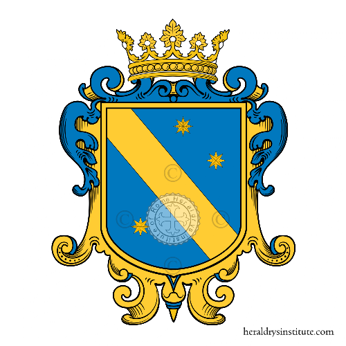 Coat of arms of family Marciano