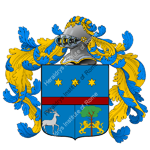 Coat of Arms of family Scocchi
