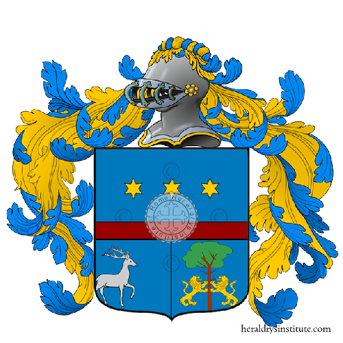 Coat of Arms of family Zaci