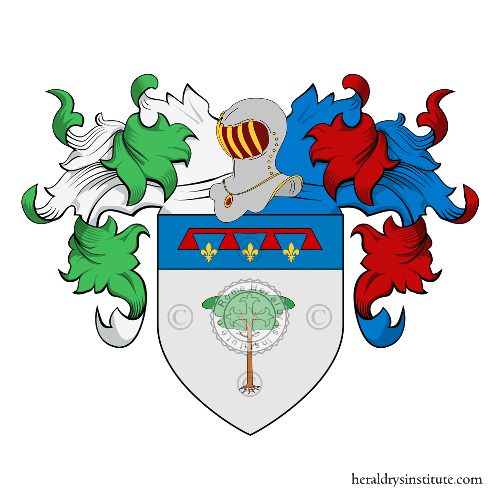 Coat of arms of family Pini