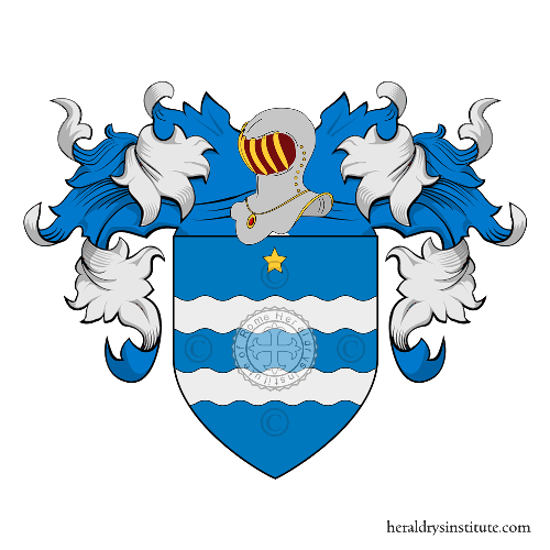 Coat of arms of family Olguìn