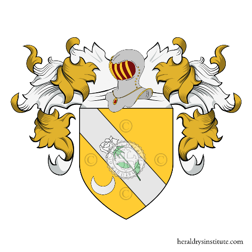 Coat of Arms of family Poccia