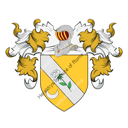 Coat of Arms of family Toccia