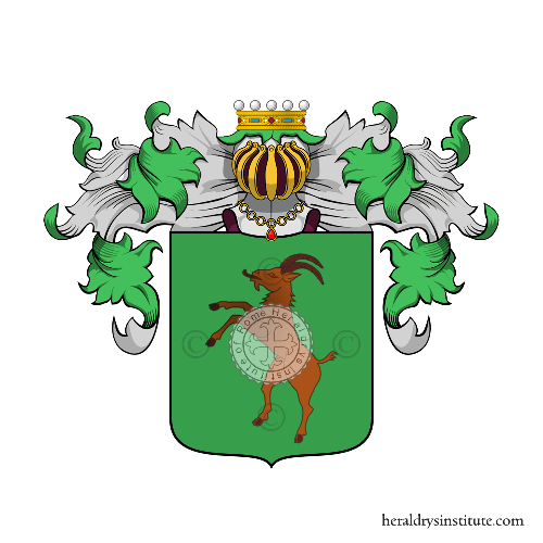 Coat of Arms of family Scocconi