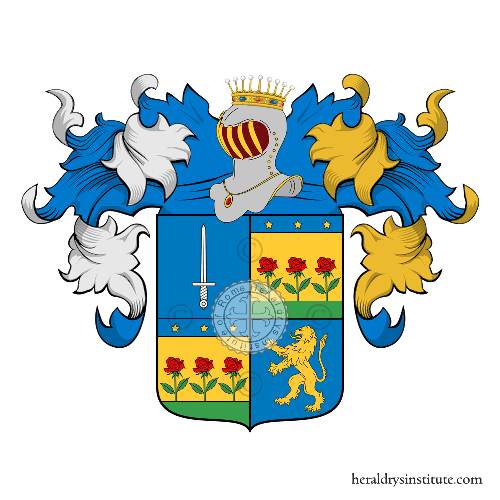 Coat of Arms of family Bertinon
