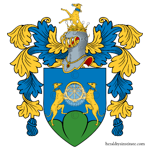 Coat of Arms of family Rotondo