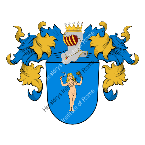 Coat of Arms of family Grützner