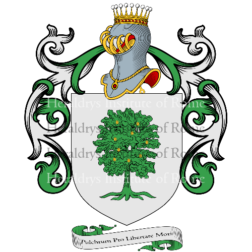 Coat of arms of family Facchinetti