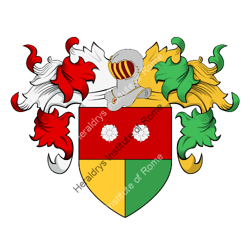 Coat of arms of family Goldei