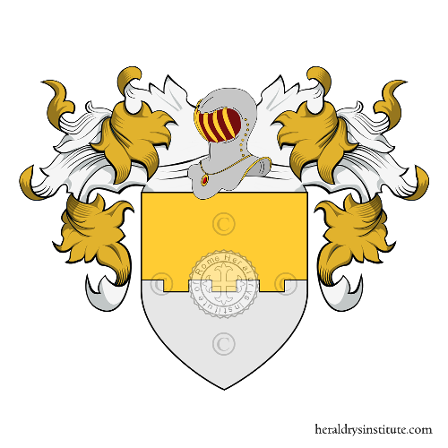 Coat of Arms of family Lombardi Morieno