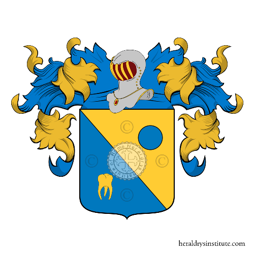 Coat of Arms of family Pallarcioni