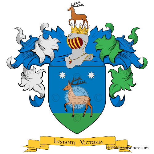Coat of Arms of family Ferruzzi