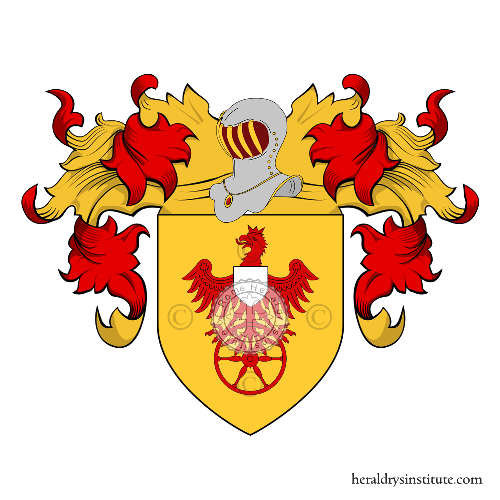 Coat of Arms of family Santi
