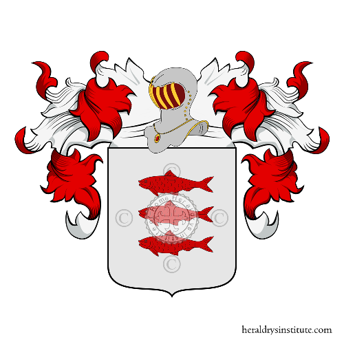 Coat of Arms of family Keranmoal