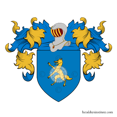 Coat of Arms of family Dalla Volpe