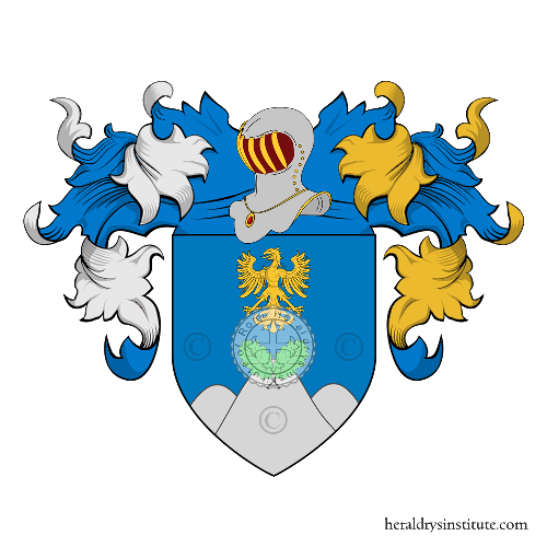 Coat of arms of family Coffa