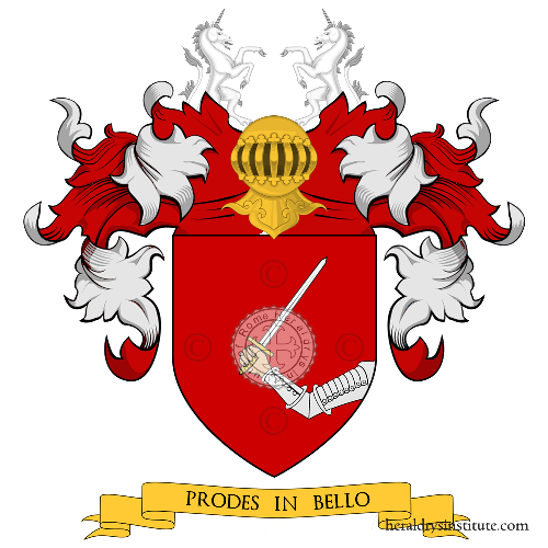 Coat of arms of family Spadafora