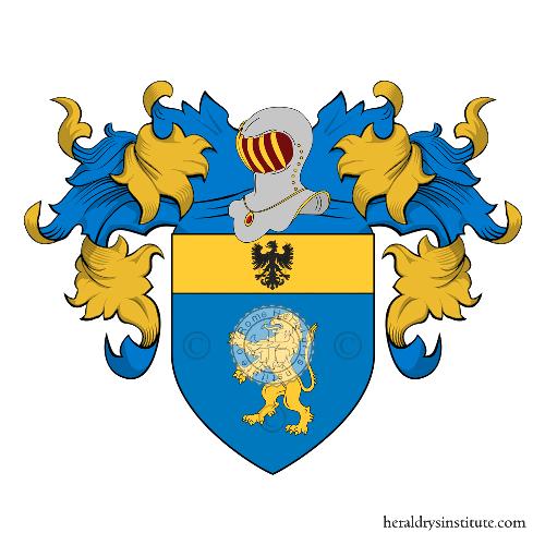 Coat of Arms of family Brancaleone